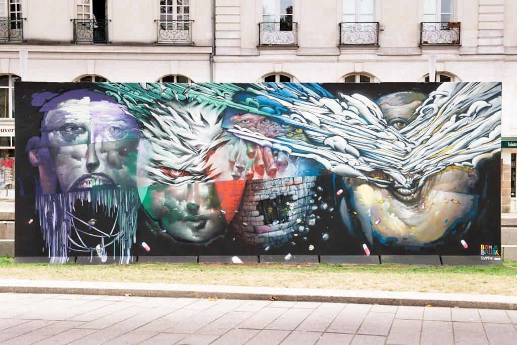 Histoire d'un Mur / Acte 8 : Bom.K & Brusk