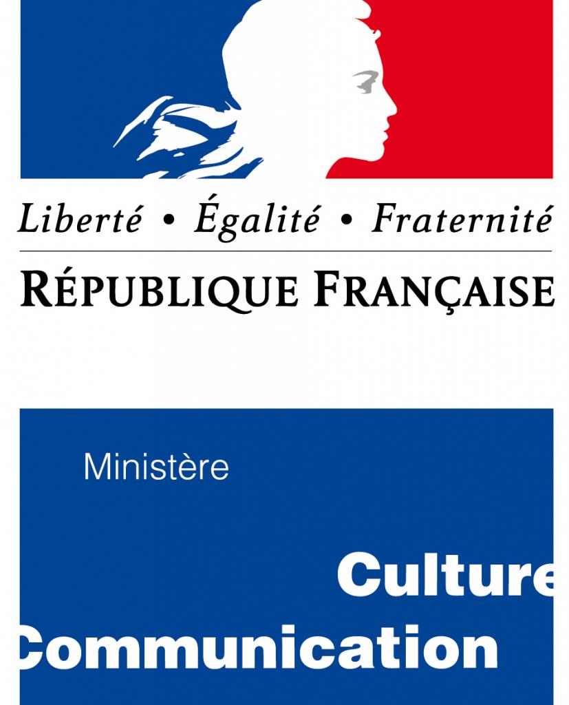 Logo ministere culture et communication