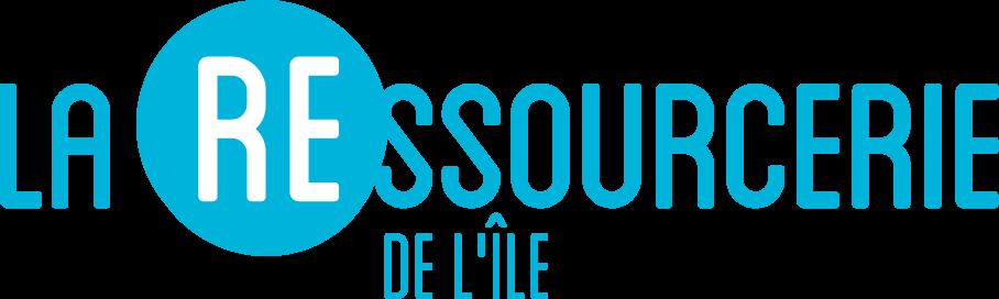 logo ressourcerie de l'île