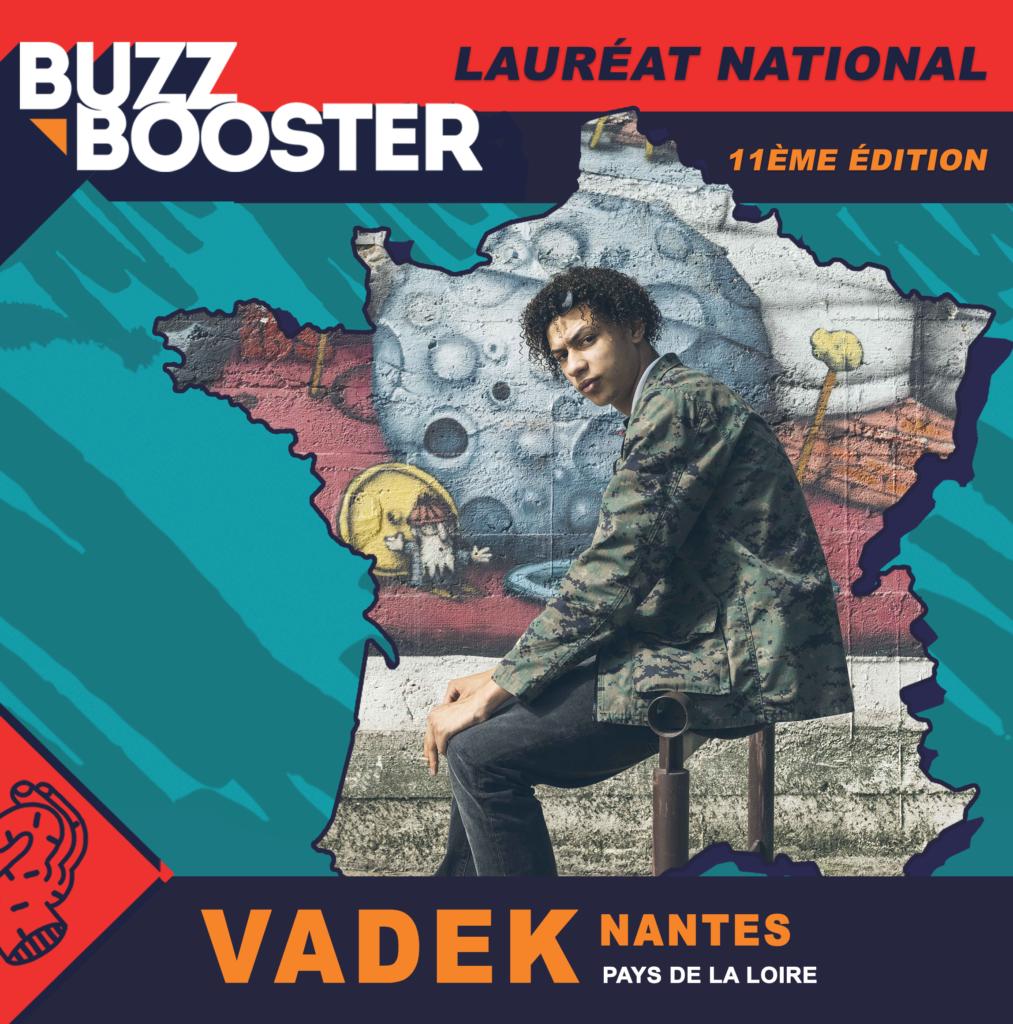 Vadek, lauréat Buzz Booster 2021